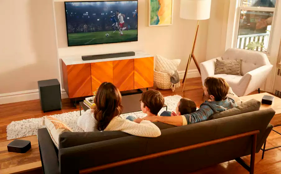Sounbdbar  JBL Bar 9.1  True Wireless Surround  Dolby Atoms  410W c/ Subwoofer -JBLBAR913DBLKBR
