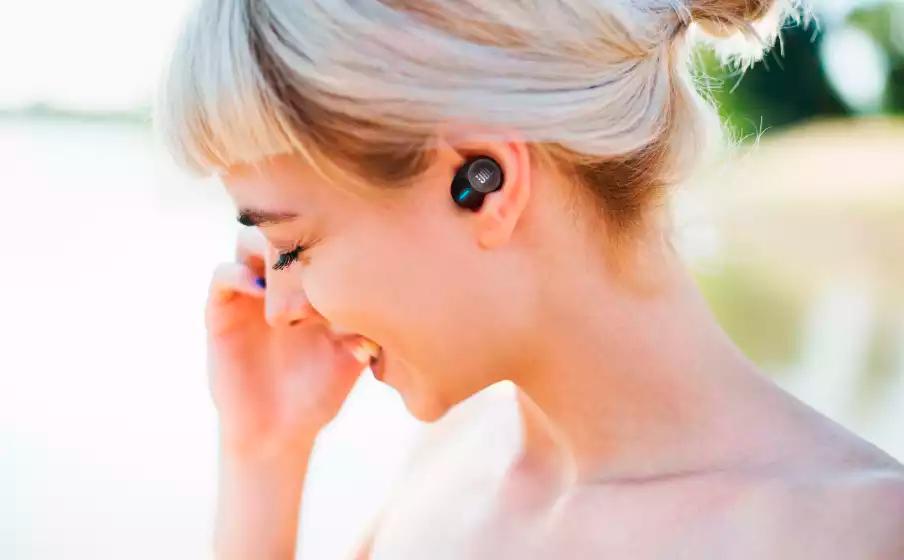 Fone de Ouvido Bluetooth Intra-auricular JBL TUNE 125TWS, Branco- JBLT125TWSWHT