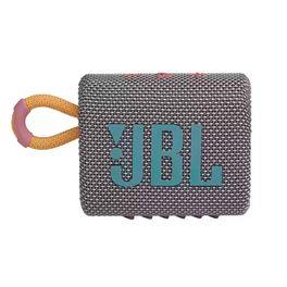 Caixa-de-Som-Portatil-JBL-GO-3-Bluetooth-5.1-A-Prova-D-agua-e-Poeira-IP67-Cinza