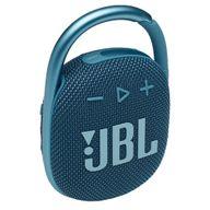 Caixa-de-Som-Portatil-JBL-Clip-4-Bluetooth-5W-A-Prova-D-agua-e-Poeira-IP67-Azul