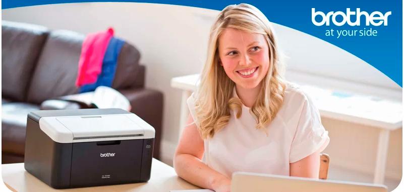 Impressora Multifuncional Brother Laser Monocromática 110V - HL-1202