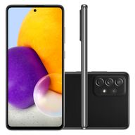 Smartphone-Samsung-A72-128GB-6GB-RAM-Tela-67--Camera-Quadrupla-Traseira-64MP---12MP---8MP---5MP-Frontal-de-32MP-Bateria-de-5000mAh-Preto
