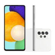 Smartphone-Samsung-A52-128GB-6GB-RAM-Tela-65--Camera-Quadrupla-Traseira-64MP---12MP---5MP---5MP-Frontal-de-32MP-Bateria-de-4-500mAh-BrancoSmartphone-Samsung-A52-128GB-6GB-RAM-Tela-65--Camera-Quadrupla-Traseira-64MP---12MP---5MP---5MP-Frontal-de-32MP-Bateria-de-4-500mAh-Branco