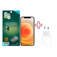 Carregador-USB-C-Apple-de-20W---Pelicula-de-Vidro-Temperado-Premium-HPrime-para-Apple-iPhone-12-Mini-5.4-