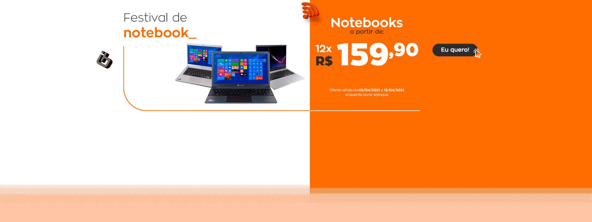 notebooks - ofertas encarte
