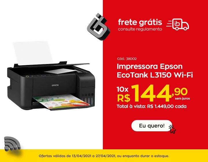 Impressora - oferta encarte
