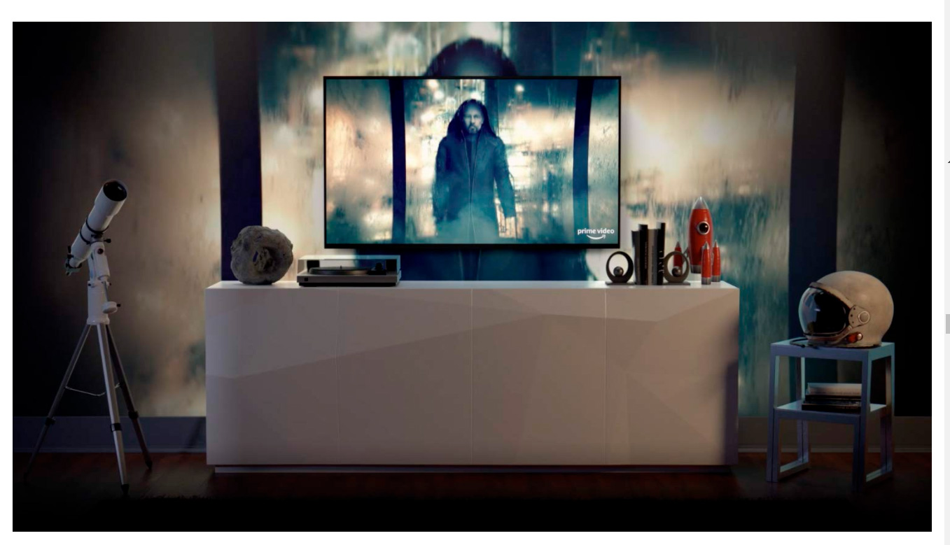 mart TV Samsung 55 Crystal UHD 4K 55AU8000, Painel Dynamic Crystal Color, Design slim, Tela sem limites, Visual Livre de Cabos, Alexa built in, Controle Único