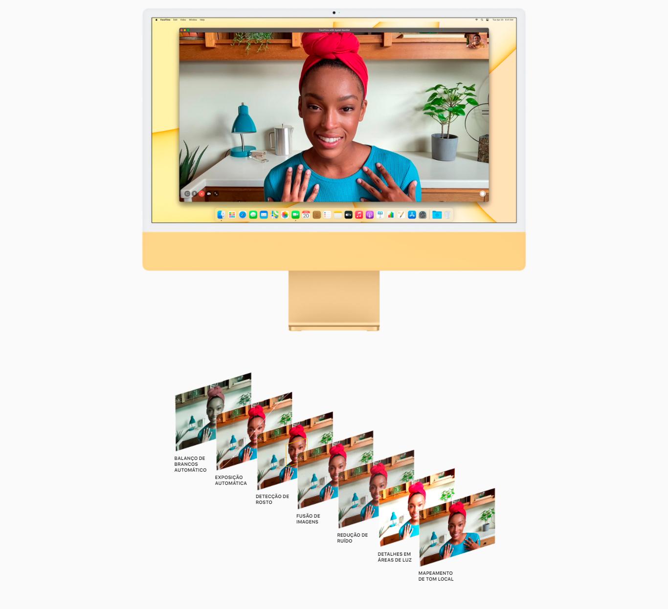 iMac Apple M1 8GB 256GB SSD 24