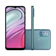 Smartphone-Motorola-G20-64GB-4GB-RAM-Tela-65--Camera-Quadrupla-Traseira-48MP----8MP----2MP---2MP-Frontal-de-13MP-Bateria-de-5000mAh-Azul