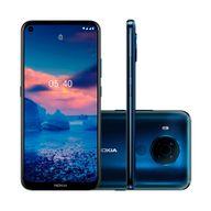Smartphone-Nokia-5.4-128GB-4GB-RAM-Tela-639--Camera-Traseira-Quadrupla-48MP---5MP---2MP---2MP-Frontal-de-16MP-Bateria-de-4000mAh-Azul