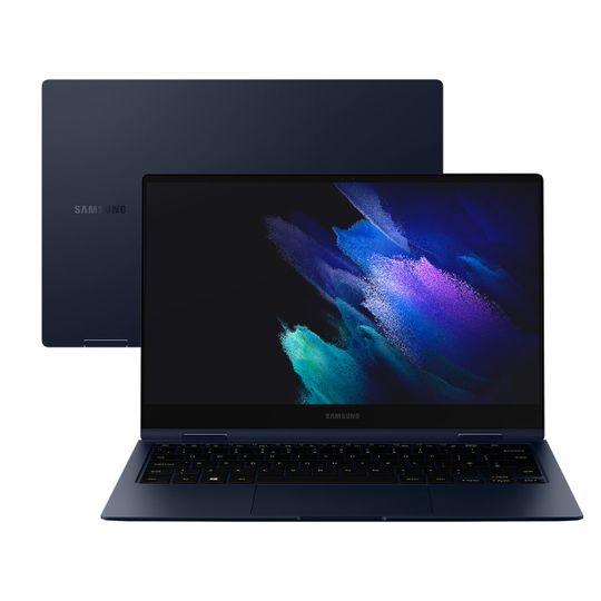 """Notebook-Samsung-Galaxy-Book-Pro-60-Intel-Core-i7-16GB-512GB-SSD-13""""-Full-HD-Windows-10-Mystic-Navy---NP930QDB-KS1BR"""