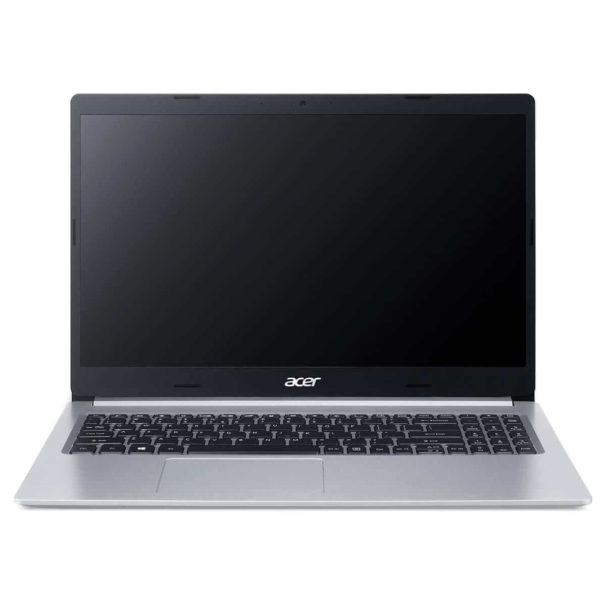 "Notebook - Acer A515-56-327t I3-1115g4 3.00ghz 4gb 256gb Ssd Intel Hd Graphics Windows 10 Home Aspire 5 15,6"" Polegadas"