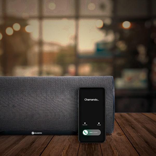 Caixa de Som Bluetooth 100W RMS GT Elegance